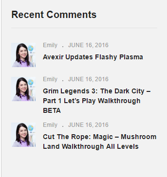 WG-recent-comments