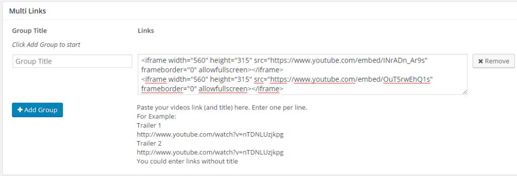multiple-link