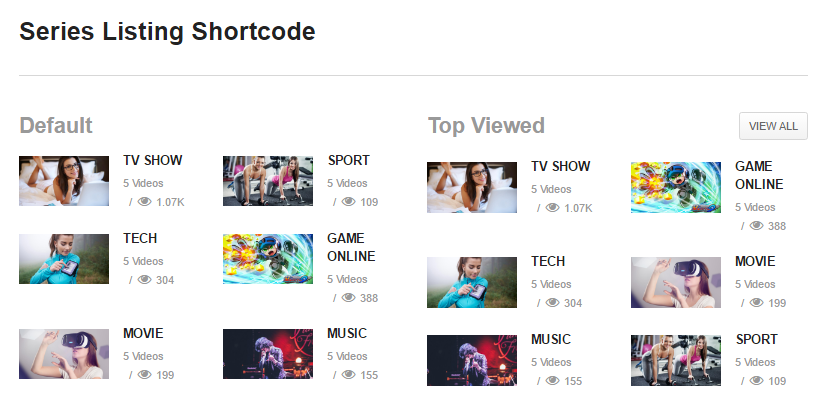 series-shortcode