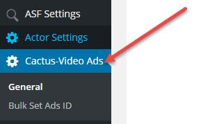 VideoAds-Menu