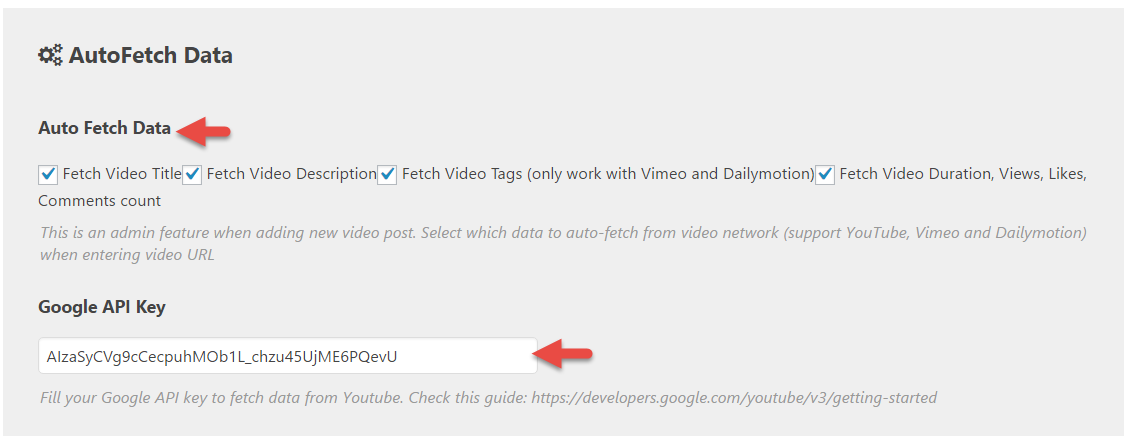 How to create a Video Post with auto fetch data | Video Pro