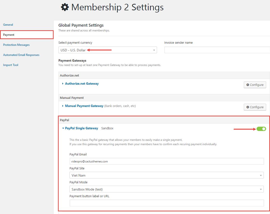 membership-paypal