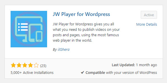 JWPlayer-forWP-plugin