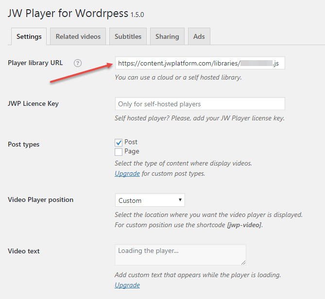 JW Player Integration | Video Pro - Documentation
