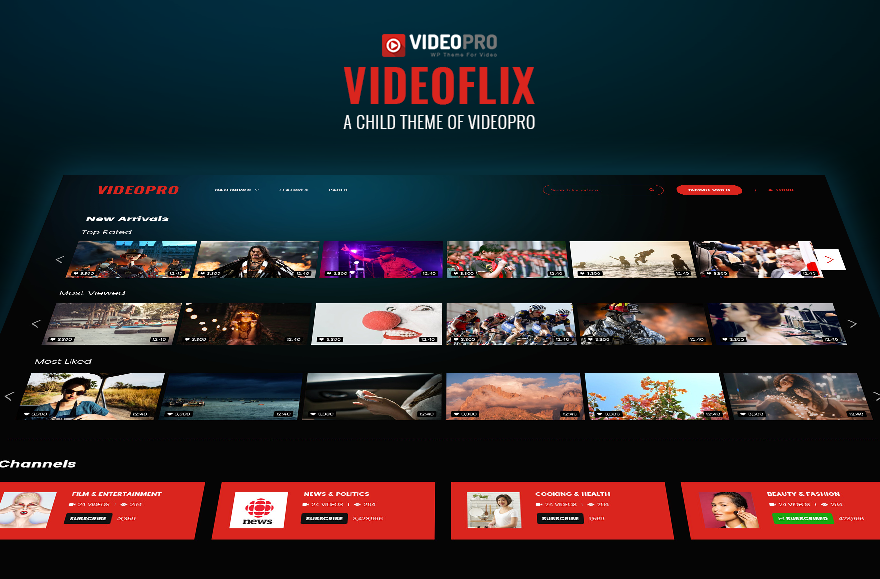 VideoFlix Theme | Video Pro - Documentation