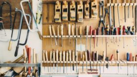 A box of tools for your DIY project