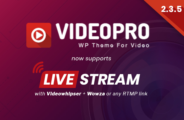 VideoPro - Video WordPress Theme - 8